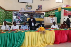 AFIGYA KWABRE SOUTH AND NORTH DISTRICTS HOLD TOWN HALL MEETING AT KODIE